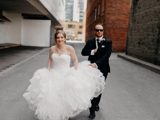 The wedding of Devan and Jon