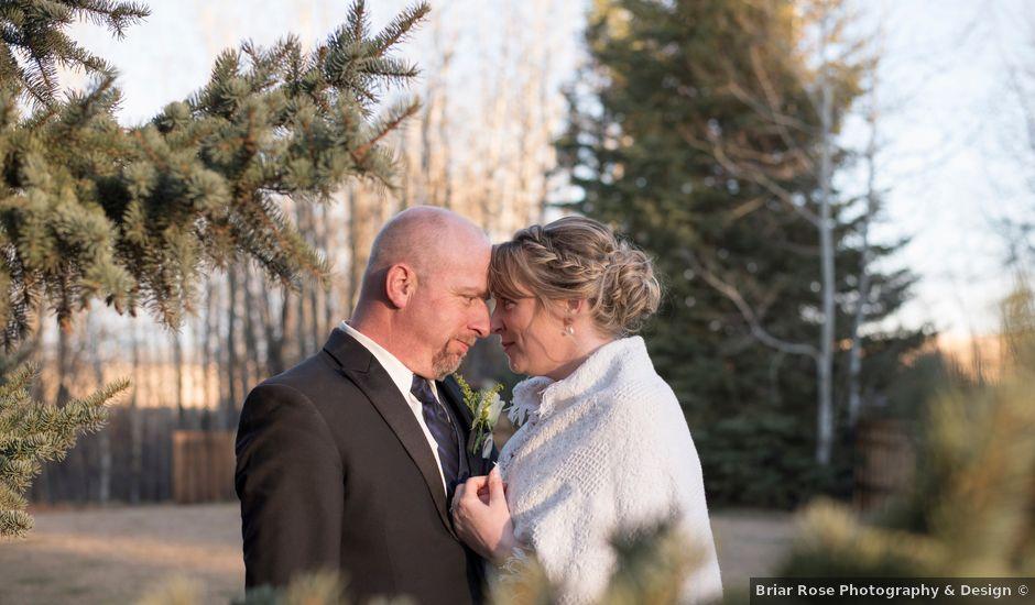 Joel and Danielle's wedding in Spruce Grove, Alberta