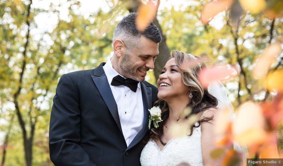 The wedding of Liz and Nick
