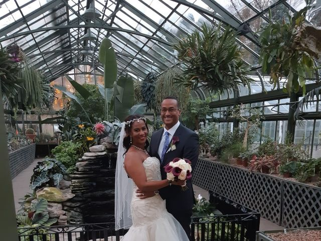 The wedding of Rosemarie and Richard