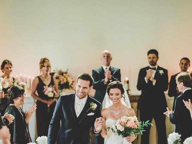 Mark and Martina's wedding in Kleinburg, Ontario 1