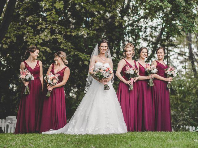 Mark and Martina's wedding in Kleinburg, Ontario 2