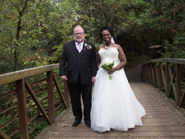 The wedding of Laura  and Cameron