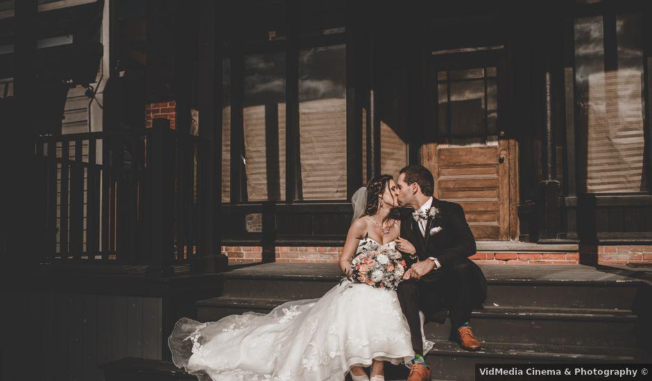 Mark and Martina's wedding in Kleinburg, Ontario
