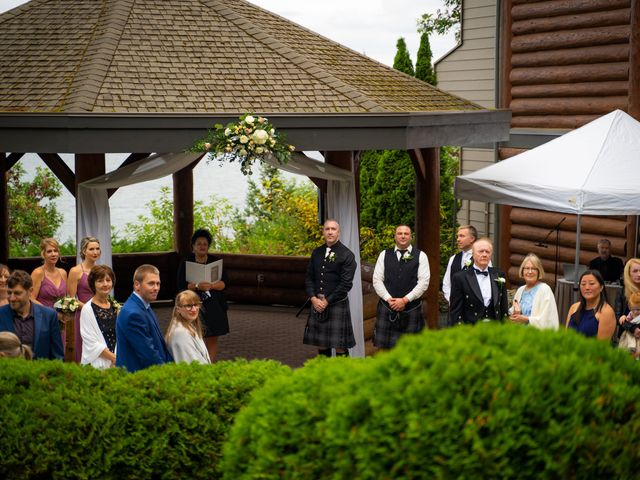 Bruce and Leanne's wedding in Parksville, British Columbia 41