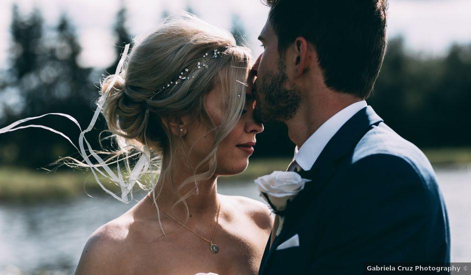 Taylor and Milo's wedding in Edmonton, Alberta