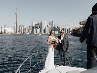 The wedding of Kim and Mark