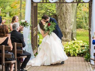The wedding of Sasha and Chris
