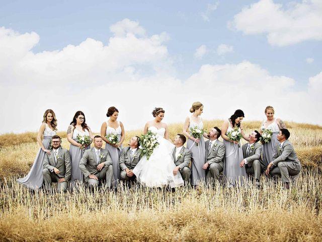 Jeremy and Brandi's wedding in Melville, Saskatchewan 1