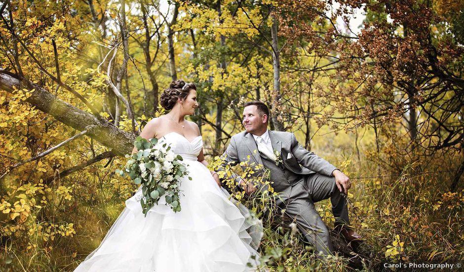 Jeremy and Brandi's wedding in Melville, Saskatchewan
