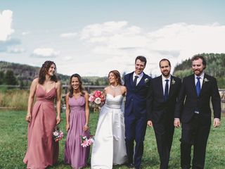The wedding of Gaelle and Paul