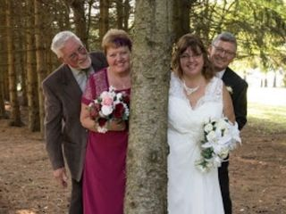The wedding of Lorna  and Mark 1