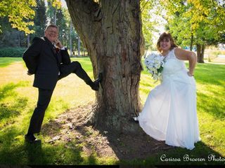 The wedding of Lorna  and Mark