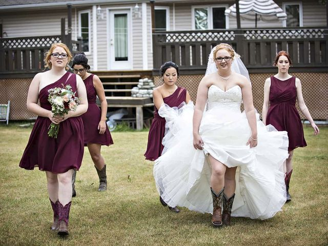 Alex and Taylor's wedding in Whitewood, Saskatchewan 10