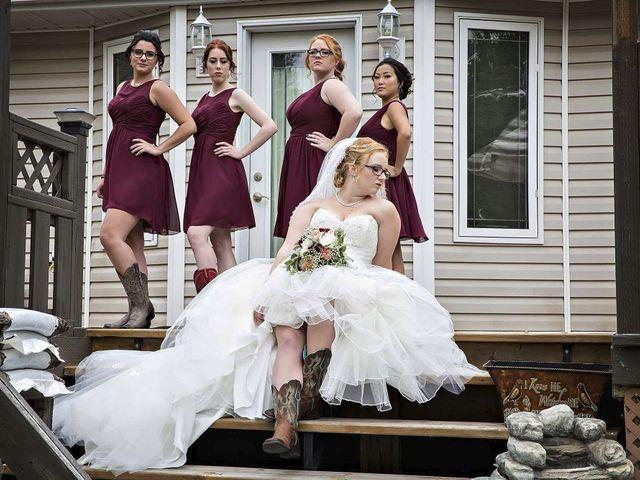 Alex and Taylor's wedding in Whitewood, Saskatchewan 12