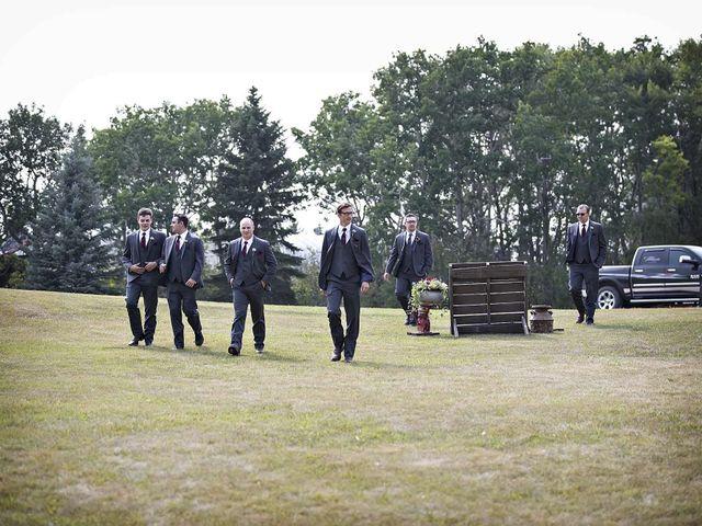 Alex and Taylor's wedding in Whitewood, Saskatchewan 17