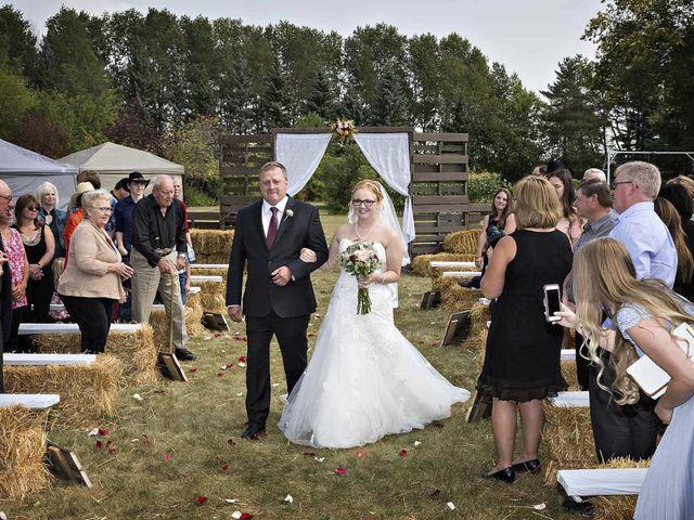 Alex and Taylor's wedding in Whitewood, Saskatchewan 19