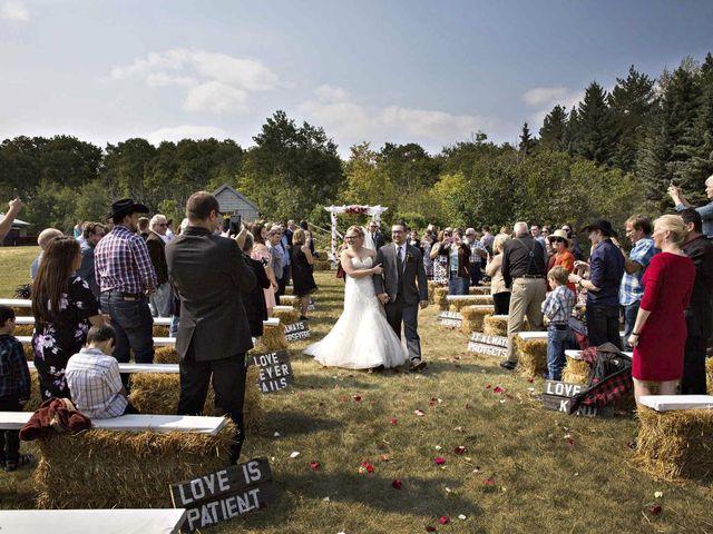 Alex and Taylor's wedding in Whitewood, Saskatchewan 25