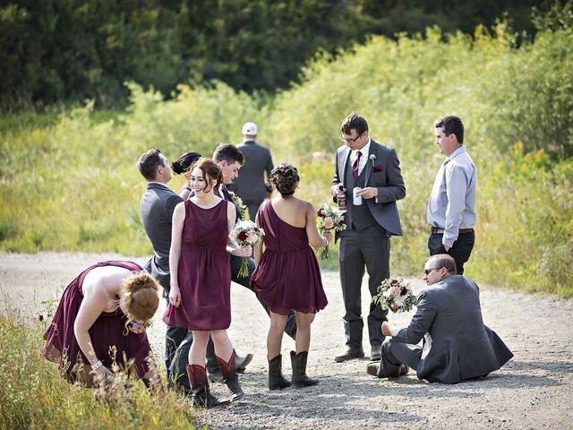 Alex and Taylor's wedding in Whitewood, Saskatchewan 42