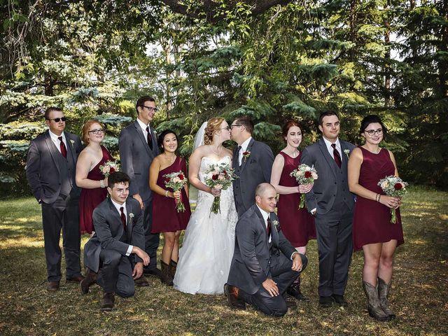 Alex and Taylor's wedding in Whitewood, Saskatchewan 45
