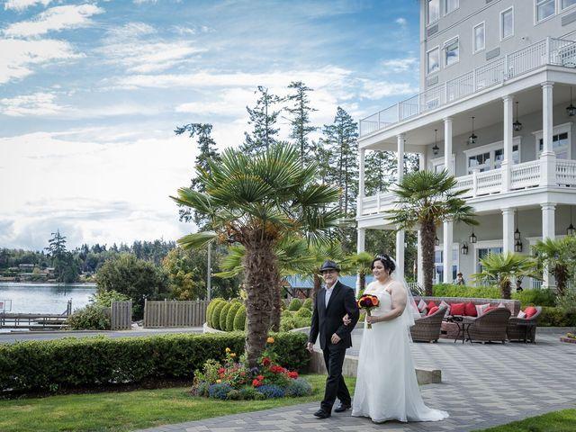Raj and Mahla's wedding in Sooke, British Columbia 14