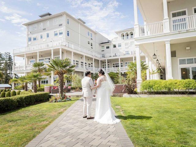 Raj and Mahla's wedding in Sooke, British Columbia 24