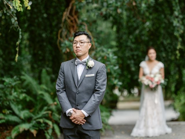 Cherry and Bill's wedding in Vancouver, British Columbia 35