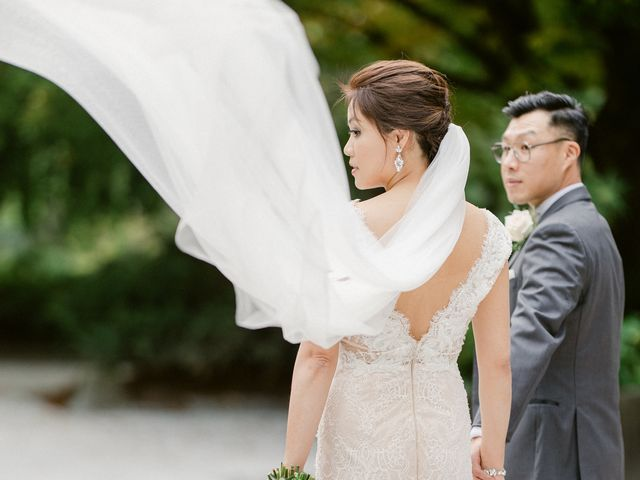 Cherry and Bill's wedding in Vancouver, British Columbia 44