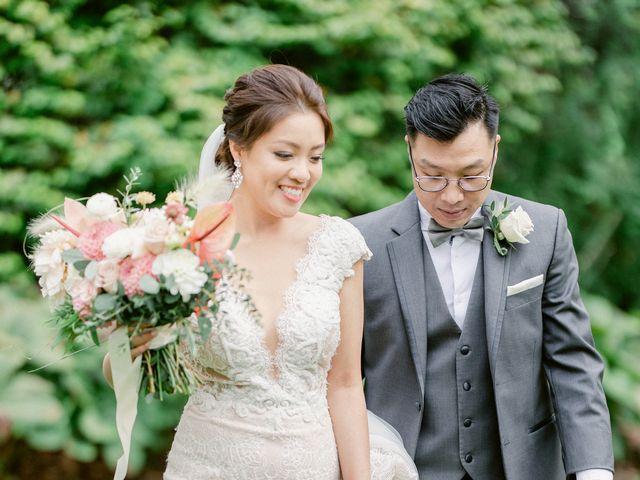 Cherry and Bill's wedding in Vancouver, British Columbia 46