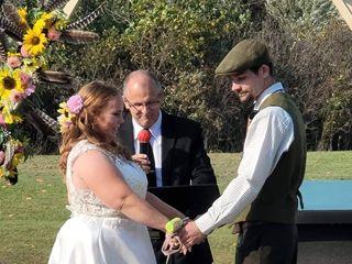 The wedding of Carol-Lynn and Michael 1