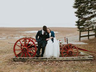 The wedding of Alyssa and Samuel