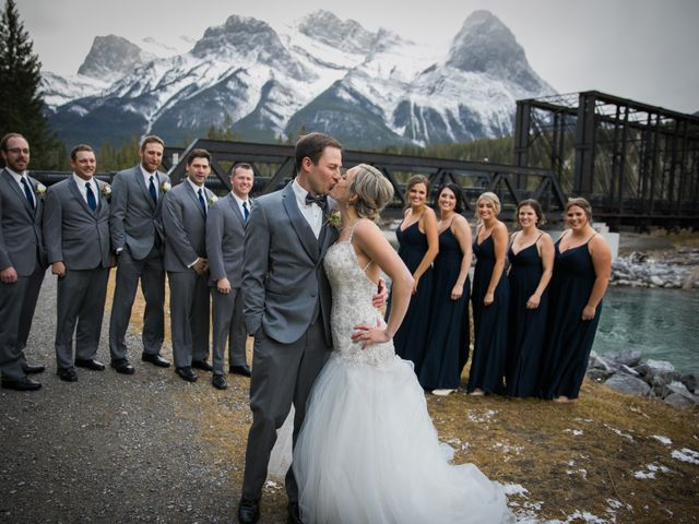 Dylan and Cassidy's wedding in Canmore, Alberta 3
