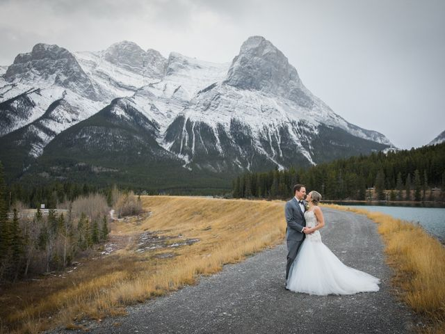 Dylan and Cassidy's wedding in Canmore, Alberta 2