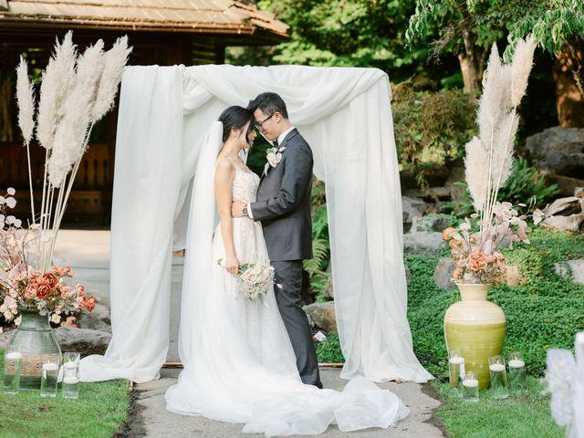 Jackey and Micheall's wedding in Surrey, British Columbia 1