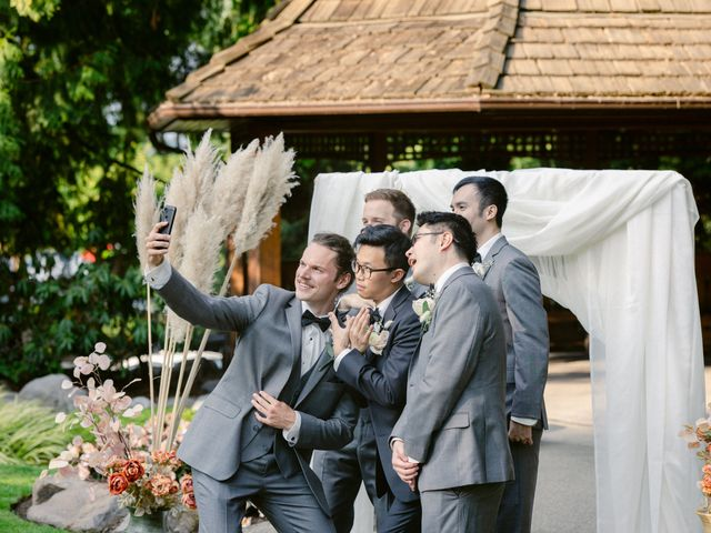 Jackey and Micheall's wedding in Surrey, British Columbia 45