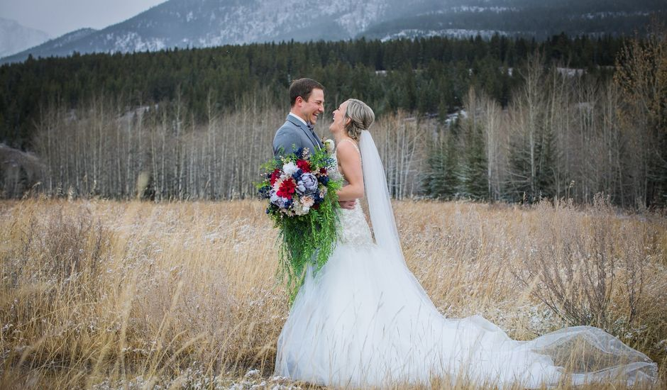 Dylan and Cassidy's wedding in Canmore, Alberta