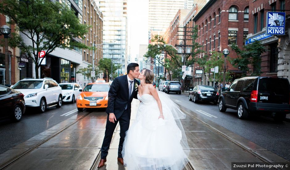Terry and Courtney's wedding in Toronto, Ontario