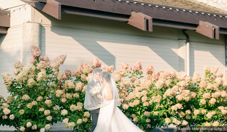 Jackey and Micheall's wedding in Surrey, British Columbia