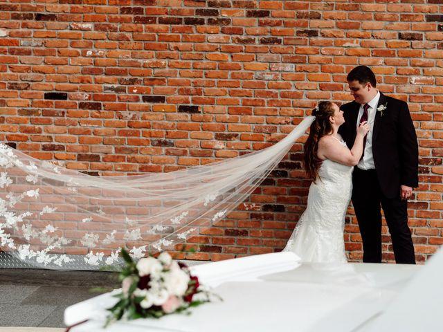 The wedding of Samantha and Sheldon