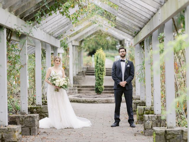 The wedding of Liza and James