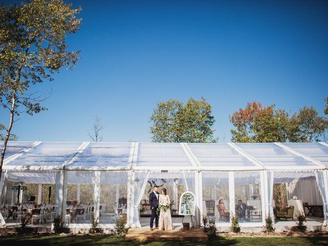 The wedding of Jamie and Macayla