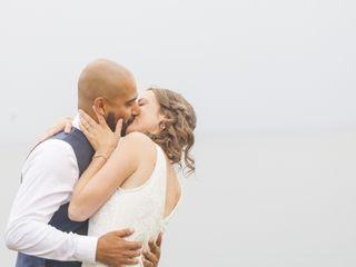 The wedding of Renee and Karan