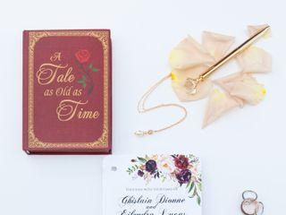 The wedding of Ghislain and Eilendra 1