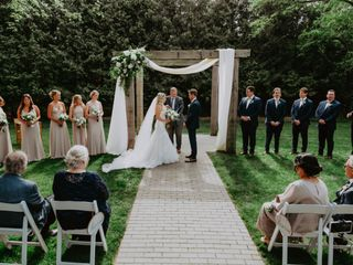 The wedding of Jacqueline and Martin