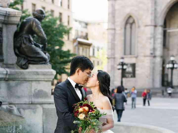 The wedding of Zhoutong and Linlin