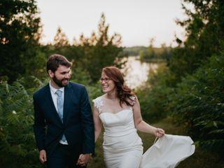 The wedding of Sarah and Ben