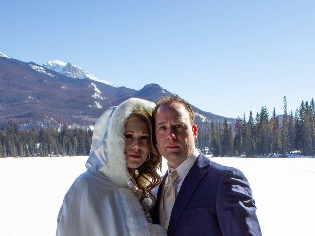 Madison and Mitchell's wedding in Jasper, Alberta 3