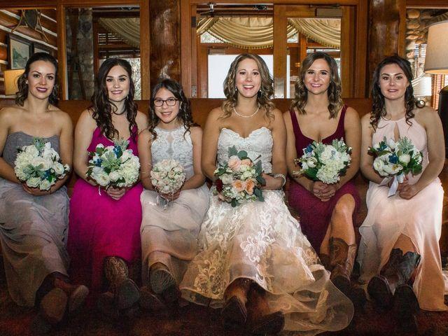 Madison and Mitchell's wedding in Jasper, Alberta 5