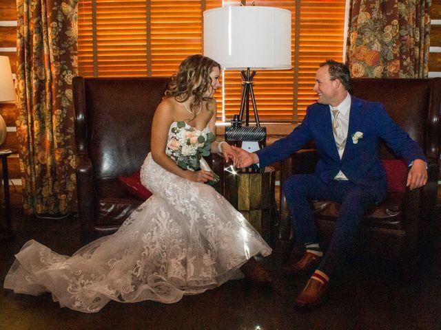 Madison and Mitchell's wedding in Jasper, Alberta 6