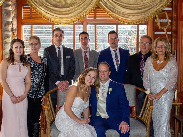 Madison and Mitchell's wedding in Jasper, Alberta 7